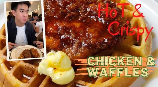 CHICKEN AND WAFFLES RECIPE | BEST CRISPY CHICKEN