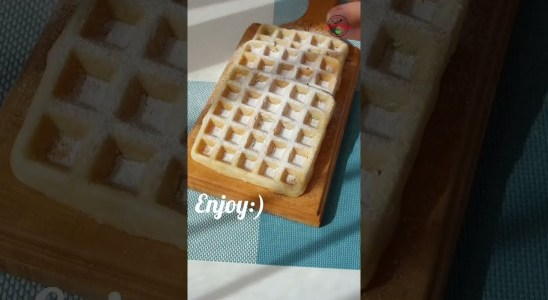 How to make Perfect Waffle at home    Easy Breakfast Recipe