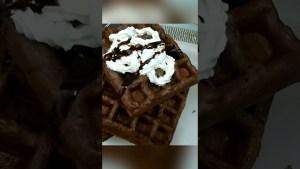 Easy Waffle Recipe   How To Make Waffles  #shorts