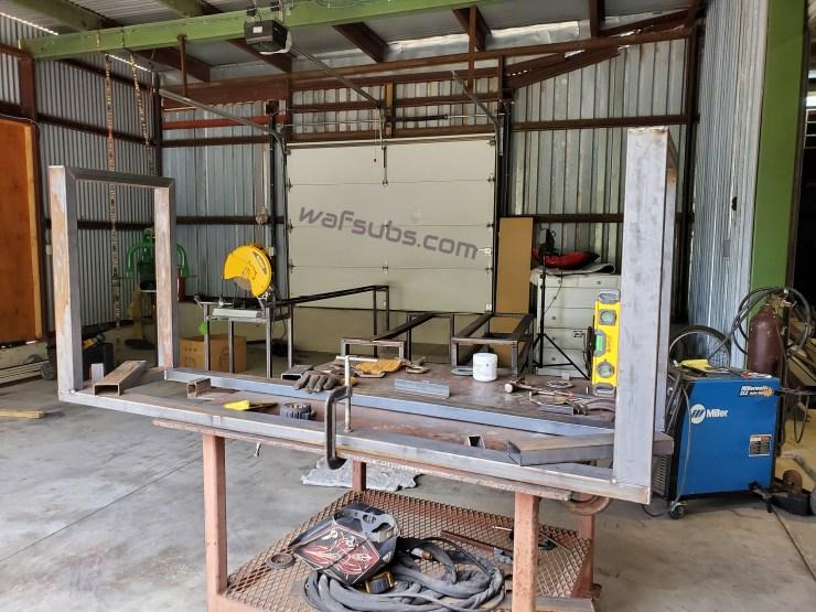 Steel Frame Build Process
