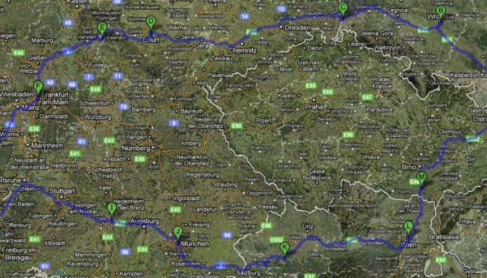 Objazdówka po Europie