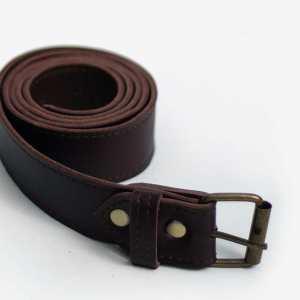 Wagapé ceinture cognac cuir