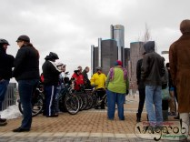 Detroit Bikes! (Detroit River, Ren Cen)