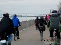 Detroit Bikes! (Bridge to Canada)