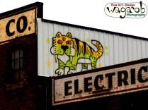 Street art - Detroit, MI.