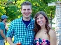 Zack et Amanda le jour avant leur mariage.