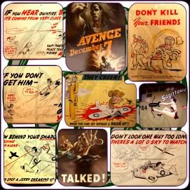 La propagande américaine de la deuxième guerre mondiale.
