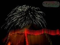 Halloween Fireworks, Dundee, MI - Copyright Robert Hartwig 2013, wagarob.wordpress.com