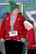Runners-up, Hideous Holiday Sweater Run, Kensington Metropark, Milford, MI - Copyright Robert Hartwig 2013, wagarob.wordpress.com