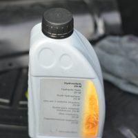 Ölwechsel Verdeckhydraulik A124 Cabriolet