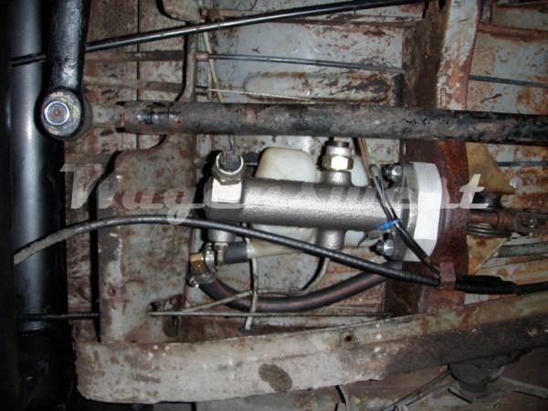 1968-70 disc brake master cylinder conversion kit-548