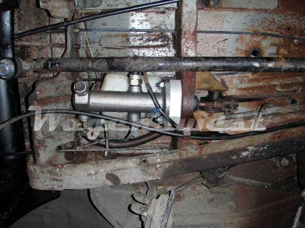 1968-70 disc brake master cylinder conversion kit-553
