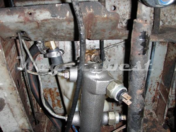 1968-70 disc brake master cylinder conversion kit-551