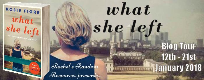 What She Left Banner