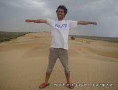 camel safari in jaisalmer india