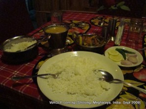 food in shillong