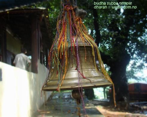 Bell at budha subba temple dharan nepal
