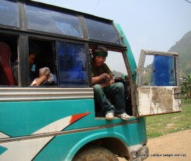 Guruji of the bus