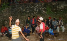 dasain dance in burtibang (1)