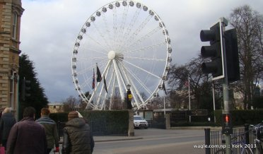 The Wheel of York Near Railway Station