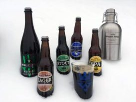 Using snow as a beer cooler