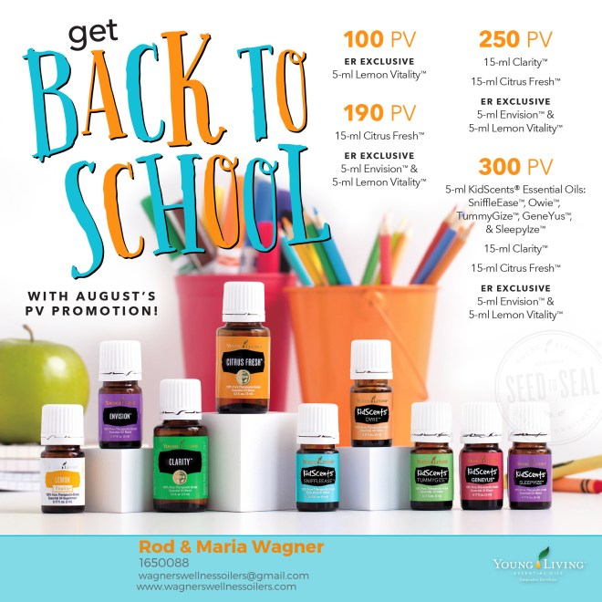 august essential oil promo