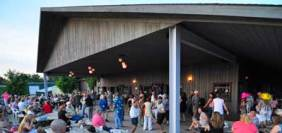 Pub Night on the brew deck - live music in the summer with dancing, food, and drinks