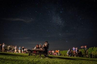 Pub night under the stars