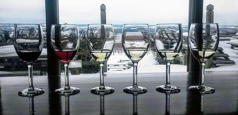 Winter Wine Flight