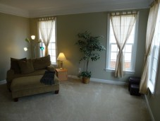 Our North Carolina living room - house for sale