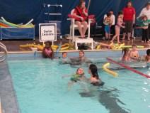 More swim lessons