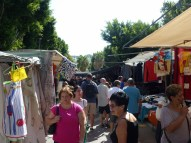 The town market was great. Held every Friday.