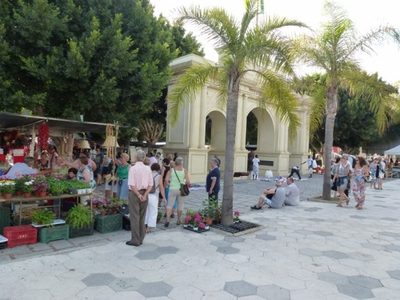 I love the Friday market in Almunecar Spain