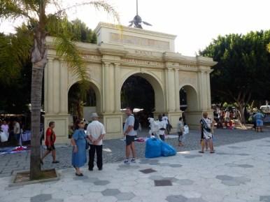 The Friday Market entrance