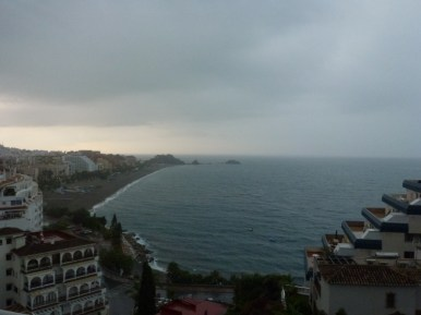 Let the rain begin
