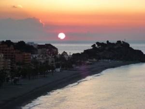 Almuñécar Spain Sunrise/Sunset