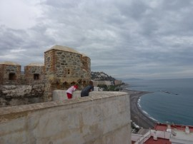 San Miguel - atop the castle