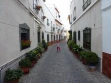 San Miguel - narrow streets