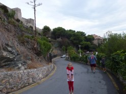 San Miguel - the walk back down