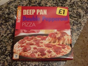 Frozen Pizza in Spain - Imported from UK