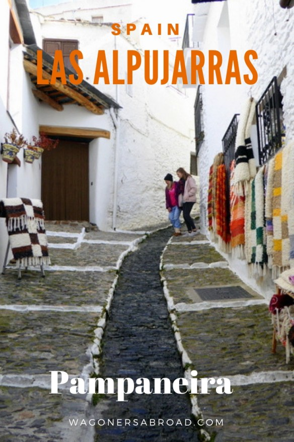 A day trip to Pampaneira, Las Alpujarras is highly recommended by our family. It is less than 1 hour away from Granada or Costa Tropical. Just take it all in and enjoy the small village of Artisans. Read more on WagonersAbroad.com