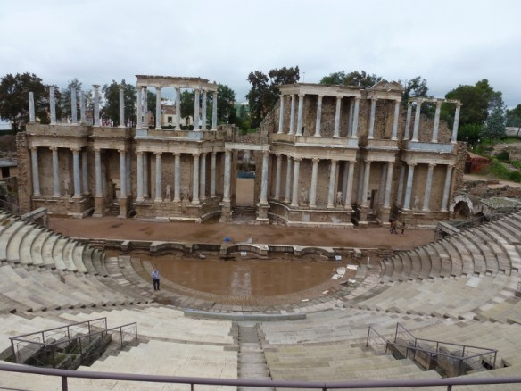 Merida Spain- Roman Ruins-Theatre
