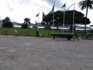 Lars shooting Anya Belem Tower Lisbon