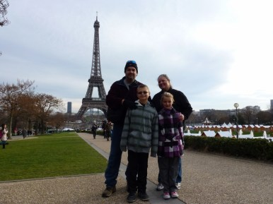 Christmas in Paris Sabbatical / Career Break