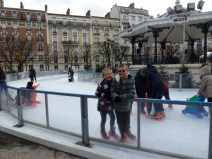 Christmas in Paris Ice Skating in Clichy