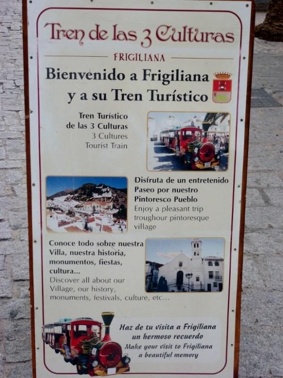 Frigiliana Tourist Train