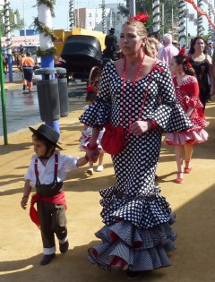 Feria de Abril - dressed to impress