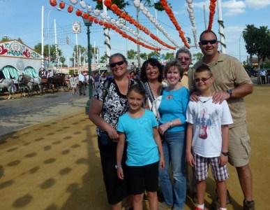 Geraldine, Tony, Mom, Alan, Heidi, Lars, Anya