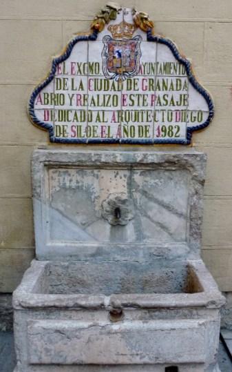 Granada, Spain near the Cathedral