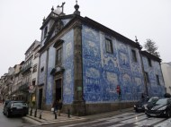 Beautiful Tiled Church in Porto Portugal